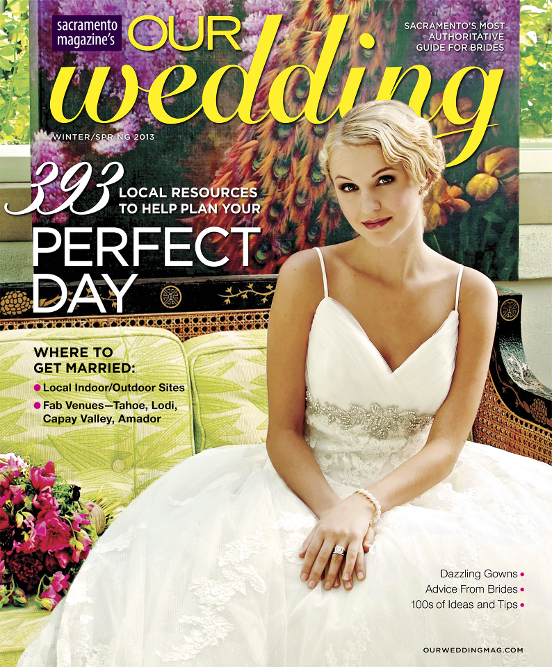 Winter/spring Issue of Our Wedding magazine