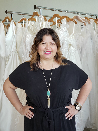 Sandra Gonzalez Founder of SPARKLE bridal couture